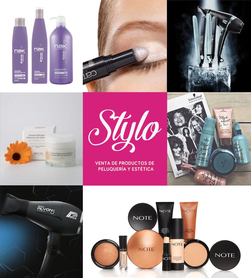 Stylo productos profesionales de peluquería y cosmética en Estella.